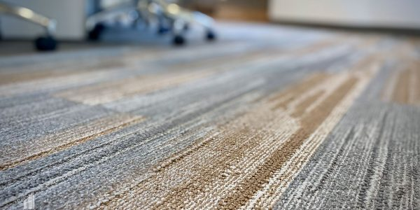 Carpet in conference room in 1st floor of Norfolk Dominion Tower