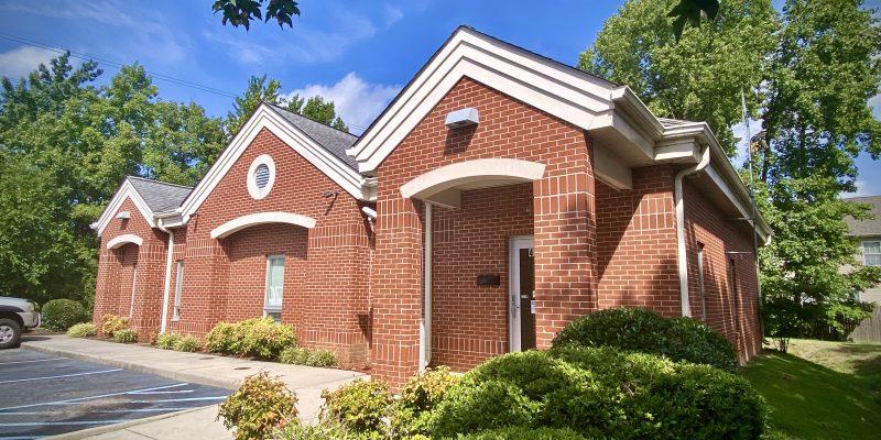 Small brick medical office building in Hampton
